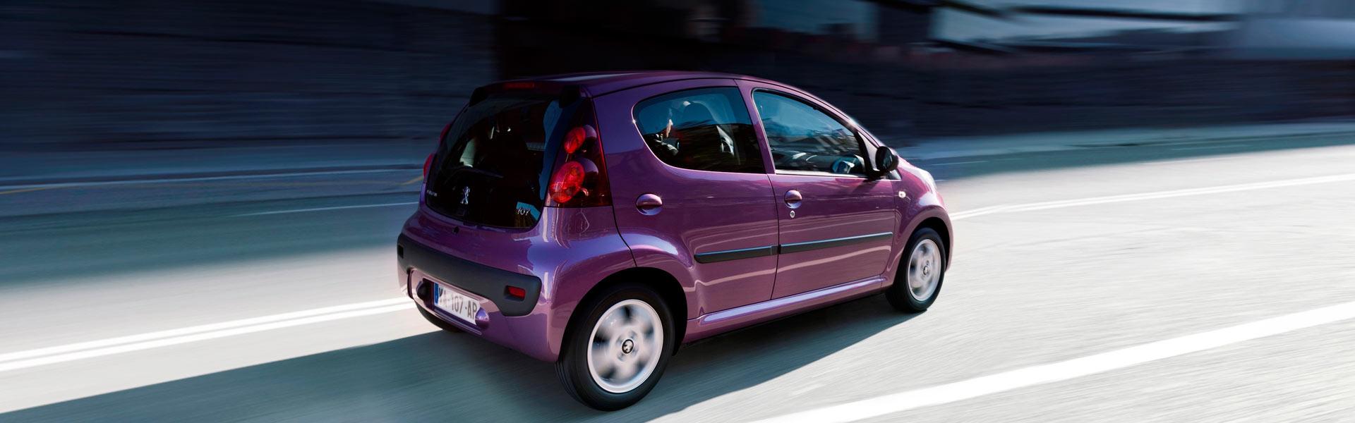 Сервис Peugeot 107